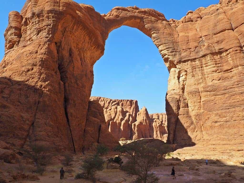 Arco de Aloba en Ennedi