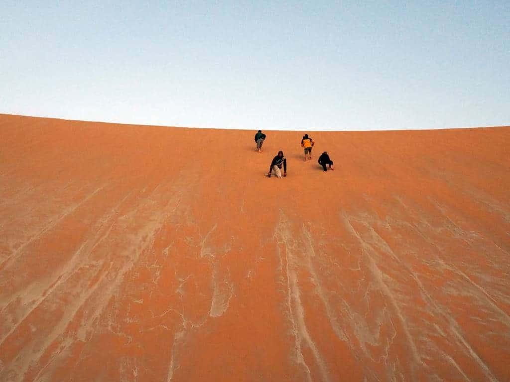 Dunas del Chad