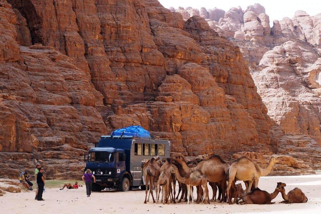 Reise in den Tschad