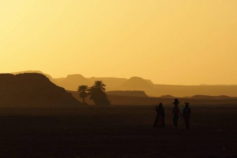 Salinas de Demi en Chad