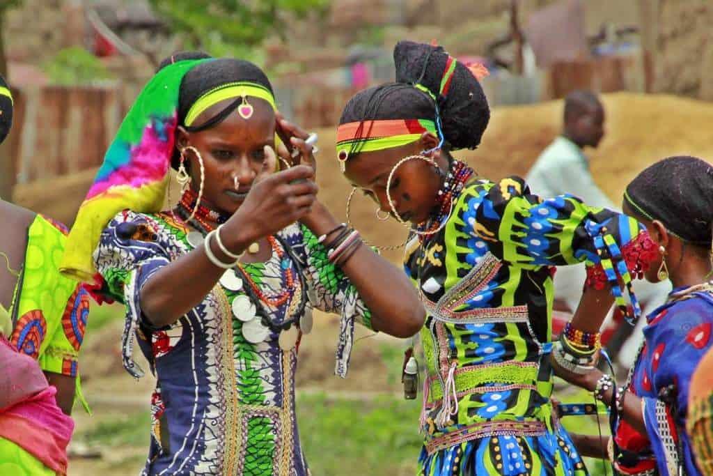 Fulani nomadas Africa central