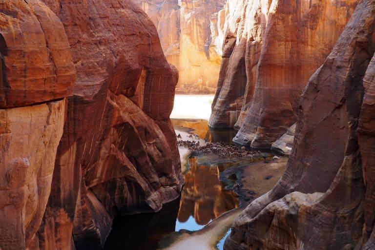 Guelta de Archei en Ennedi