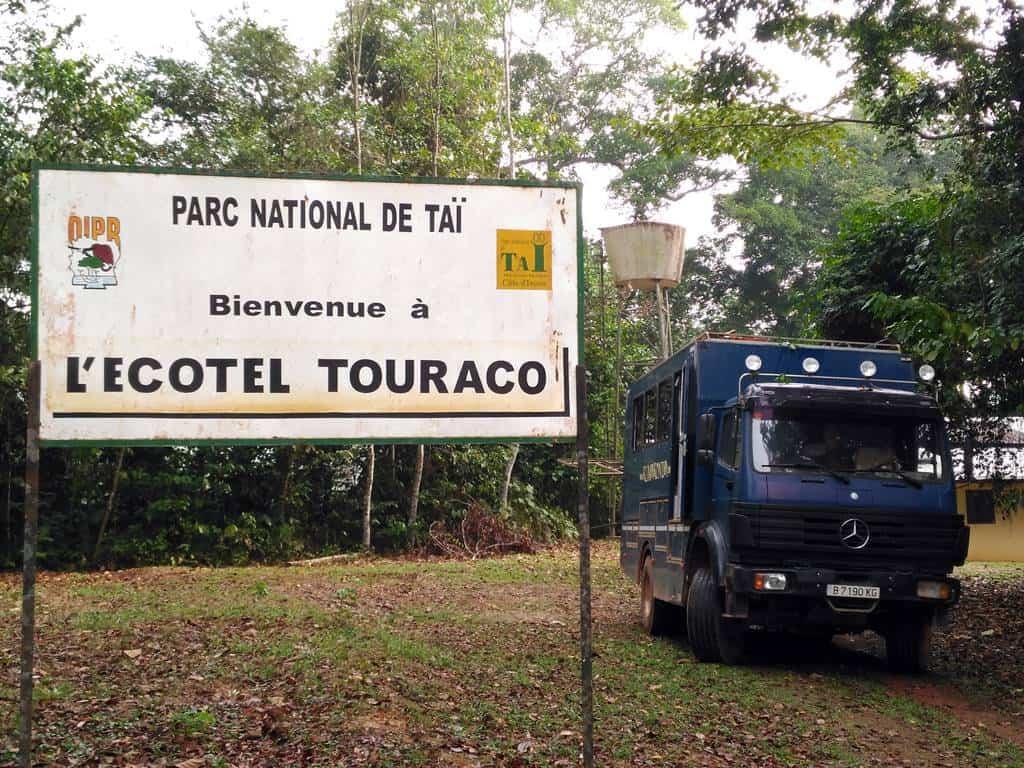Parque Nacional de Tai en Costa de Marfil