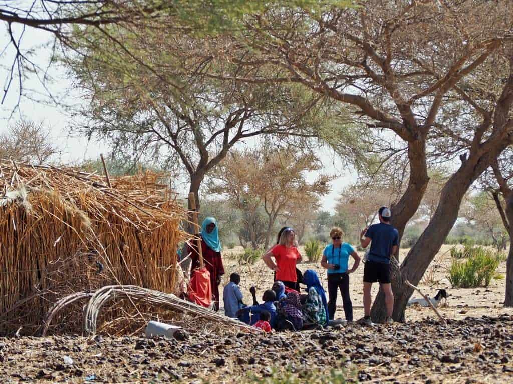 Visita en Massakori Chad