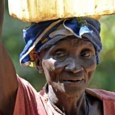 Mujer bijagos Guinea Bissau