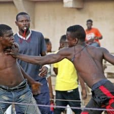 Nigeria Dambe boxing