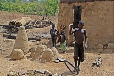 Pais Tamberma en Togo