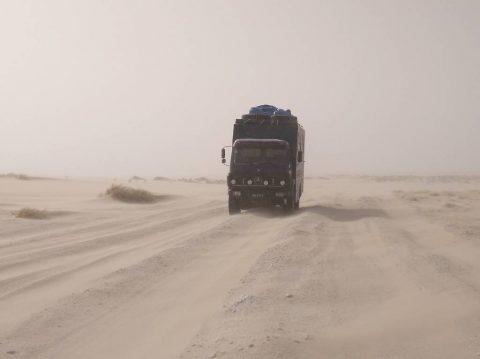 Ruta de Chad a Libia