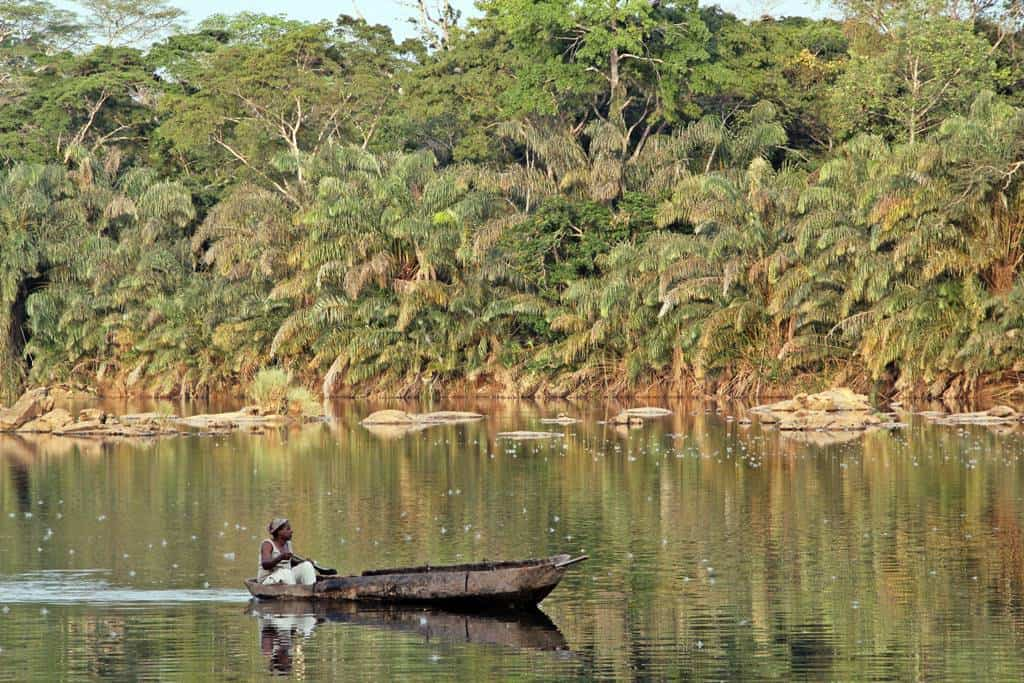 Tiwai Island Sierra Leona