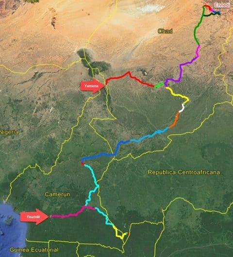 Viaje Africa central