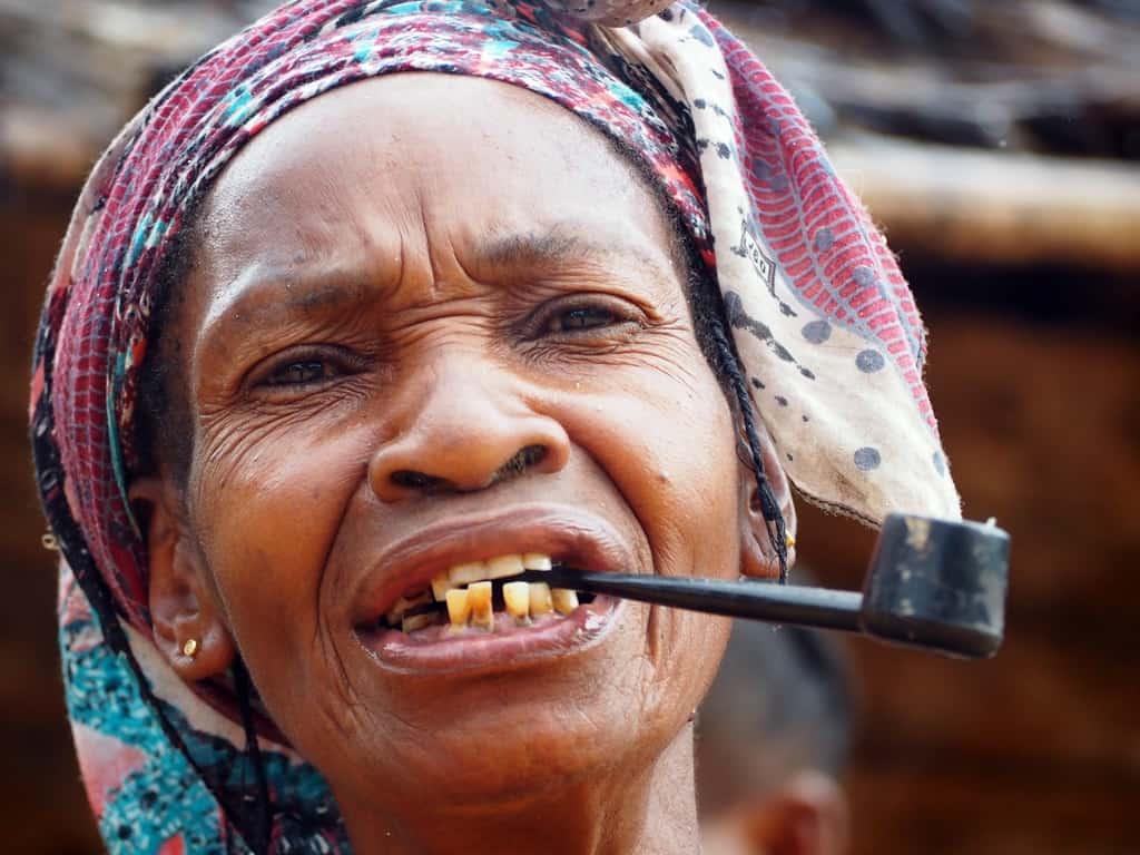 Babongo people Gabon