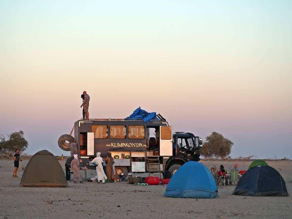Viaje de aventura participativo en Africa