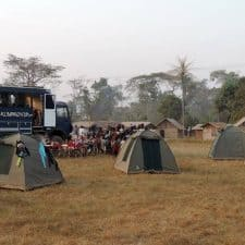 Viaje en camion por Africa