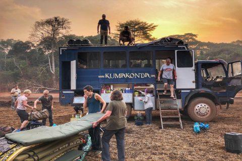 Viaje en Africa en camion