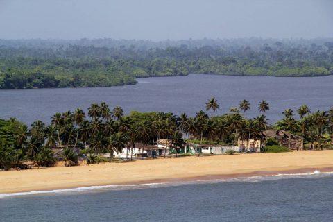 Playas de Costa de Marfil