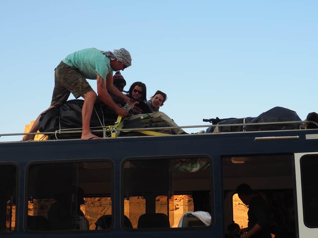 Viajes en Africa con camion