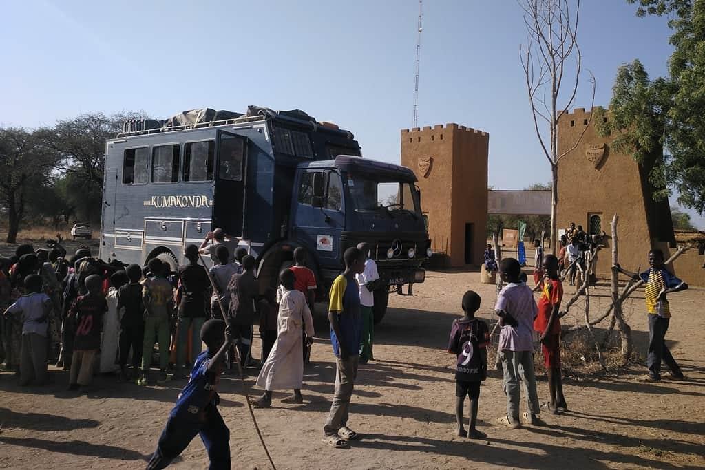 Viajes en camion en Africa