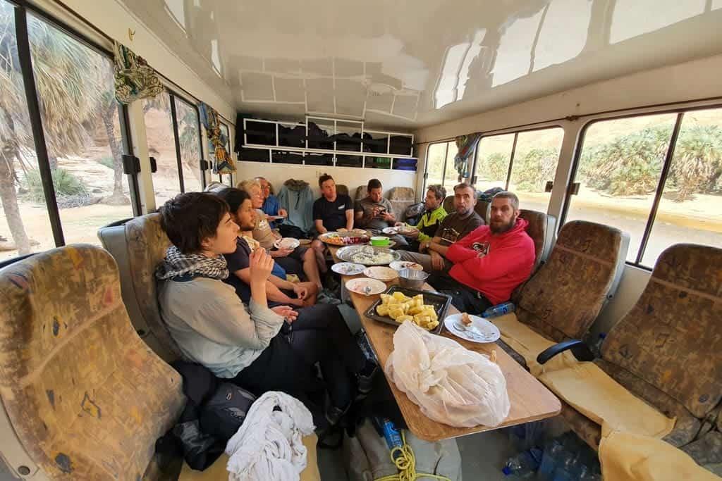 Viajar en camion por Africa