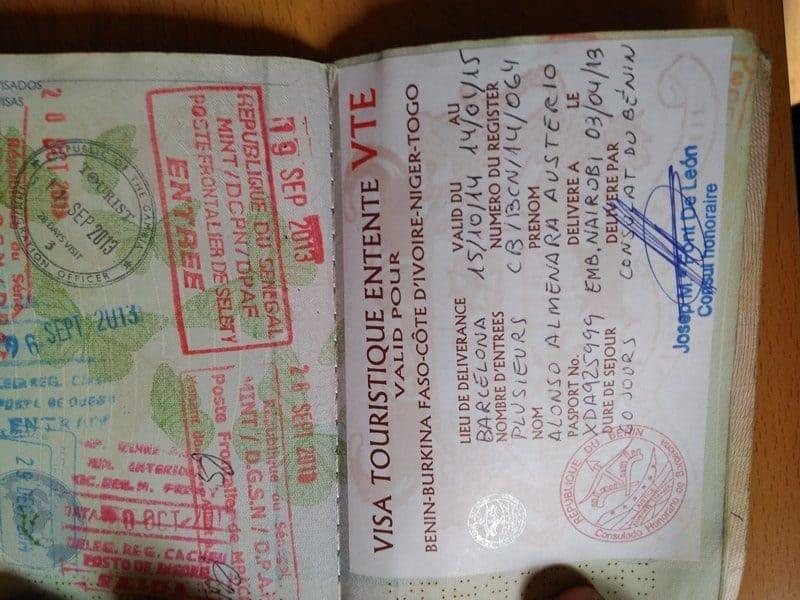 Visa ENTENTE