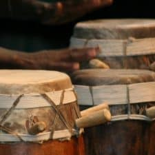 cultural burkina faso sabar-tambor