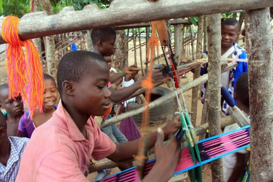 Telas tradicionales, Costa de Marfil
